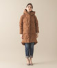 2-Layer Hooded Down Coat - CAMEL