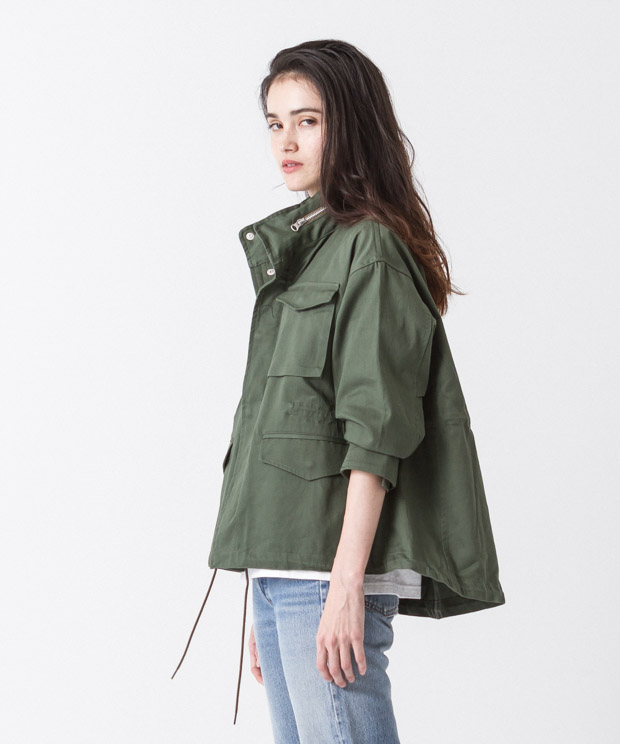Tent Silhouette M-65 Jacket - OLIVE
