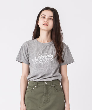 Vintage Old Cotton Printed T-Shirt - GRAY