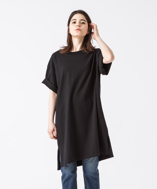 Big Silhouette Vintage T-Shirt - BLACK