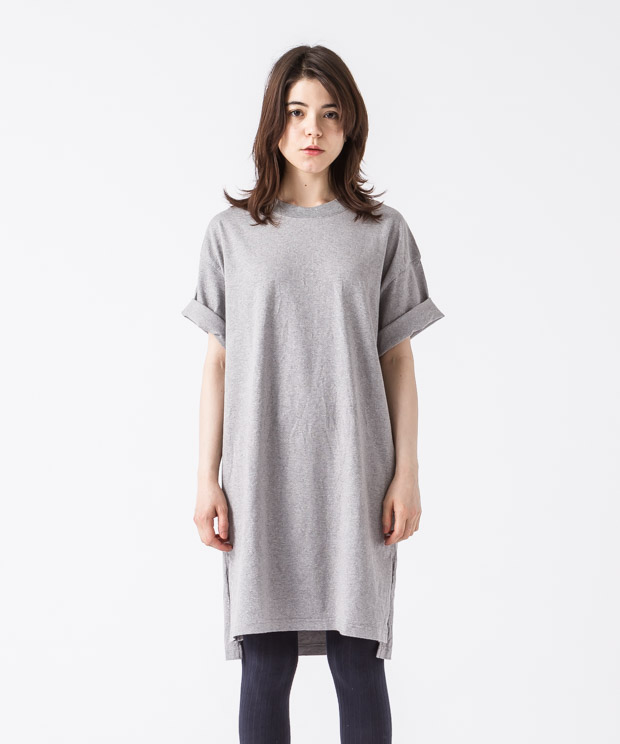 Big Silhouette Vintage T-Shirt - GRAY