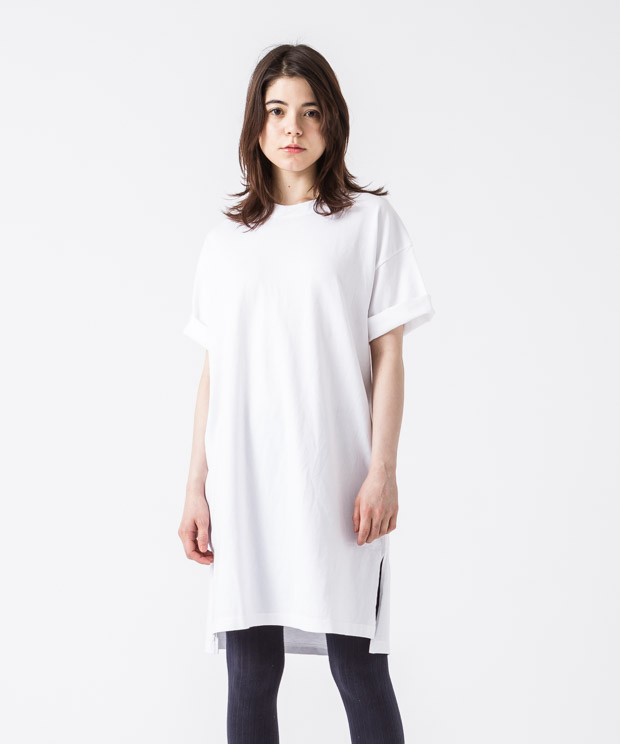 Big Silhouette Vintage T-Shirt - WHITE