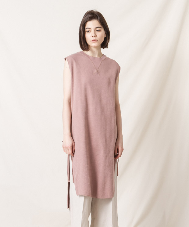 Vintage Thermal Dress - PINK