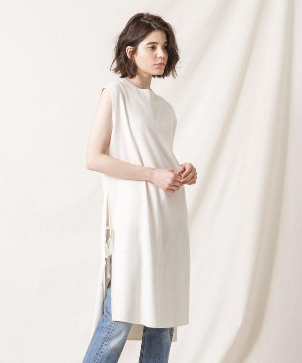 Vintage Thermal Dress - IVORY