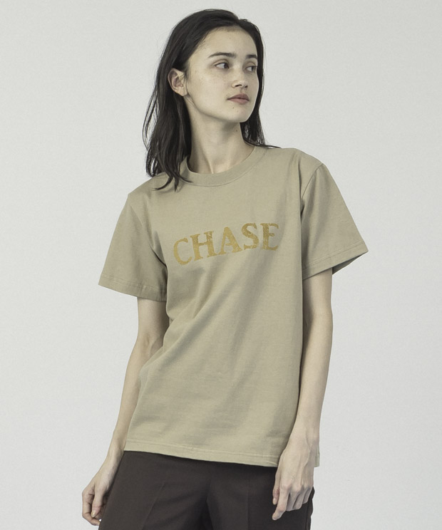 Printed T-Shirt(Chase) - BEIGE