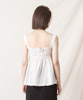 Lace Cami Blouse - WHITE