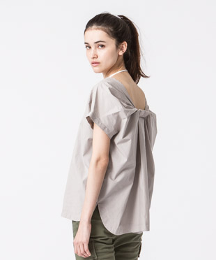 Pullover Blouse - GRAY