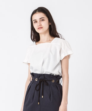 Pullover Blouse - WHITE