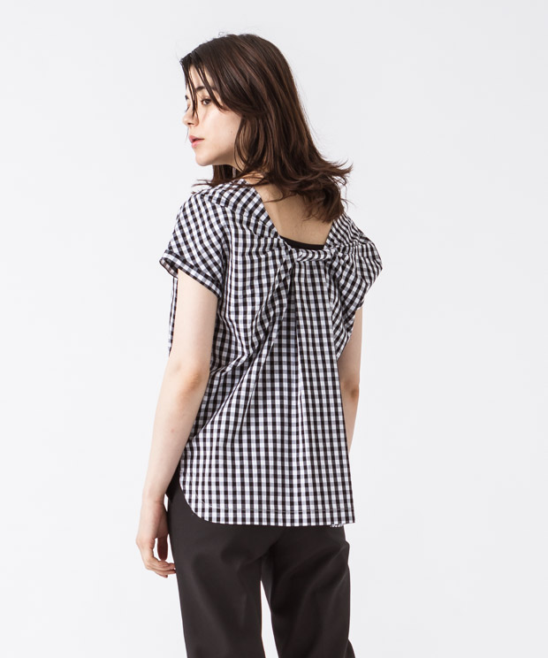 Pullover Blouse - GINGHAM CHECK