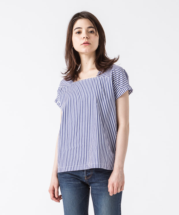Pullover Blouse - STRIPE