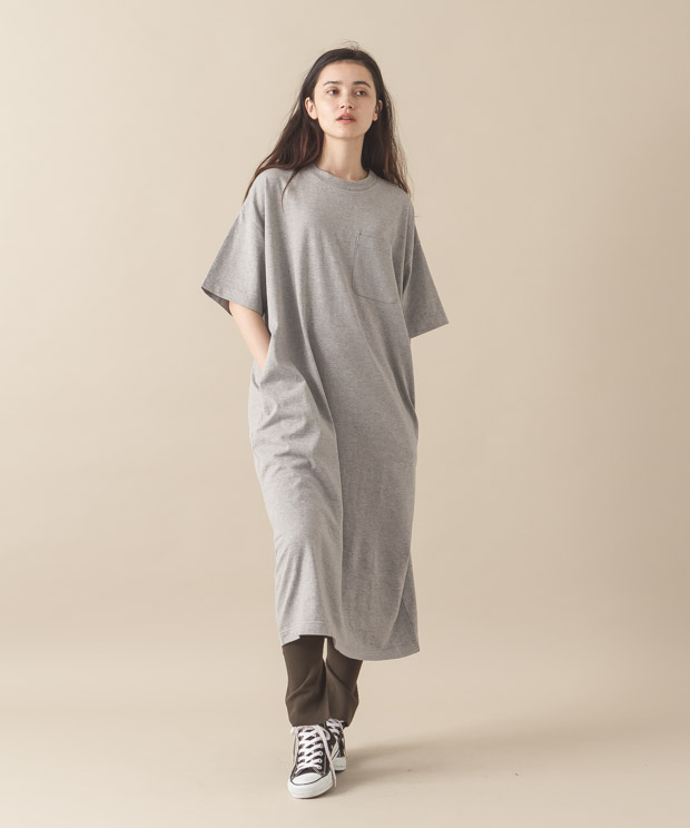 Oversized Dress - GRAY