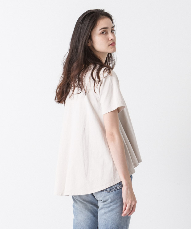 Flare Silhouette Pullover - IVORY
