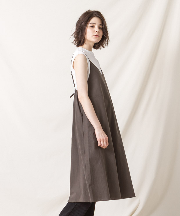 Cami-Dress - KHAKI