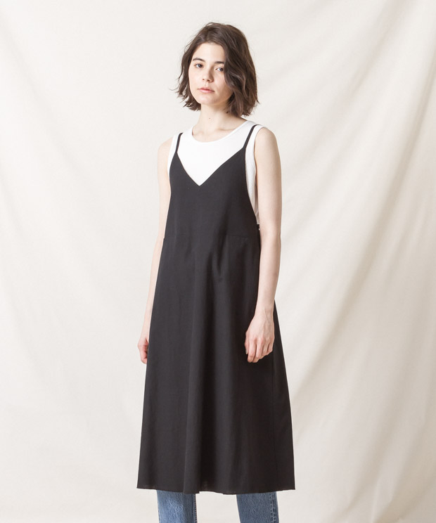 Cami-Dress - BLACK