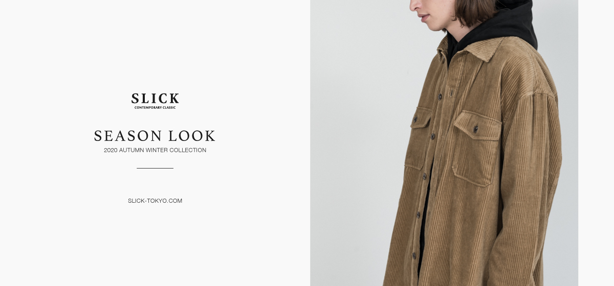 SLICK AUTUMN WINTER 2020 LOOKBOOK