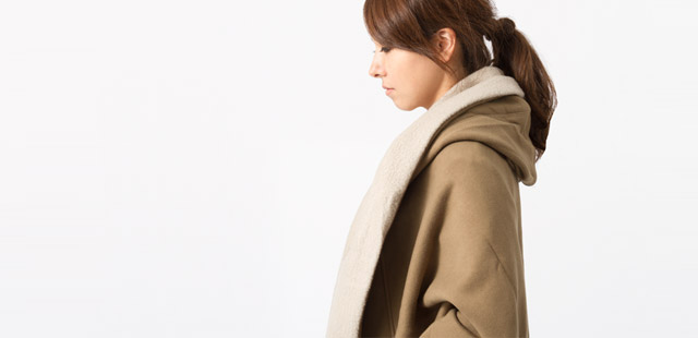 MOUTON-SWEAT OUTER / for Women