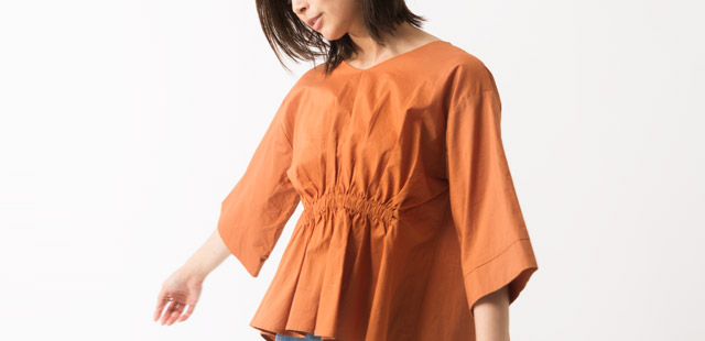 Gathered Blouse / FOR WOMEN